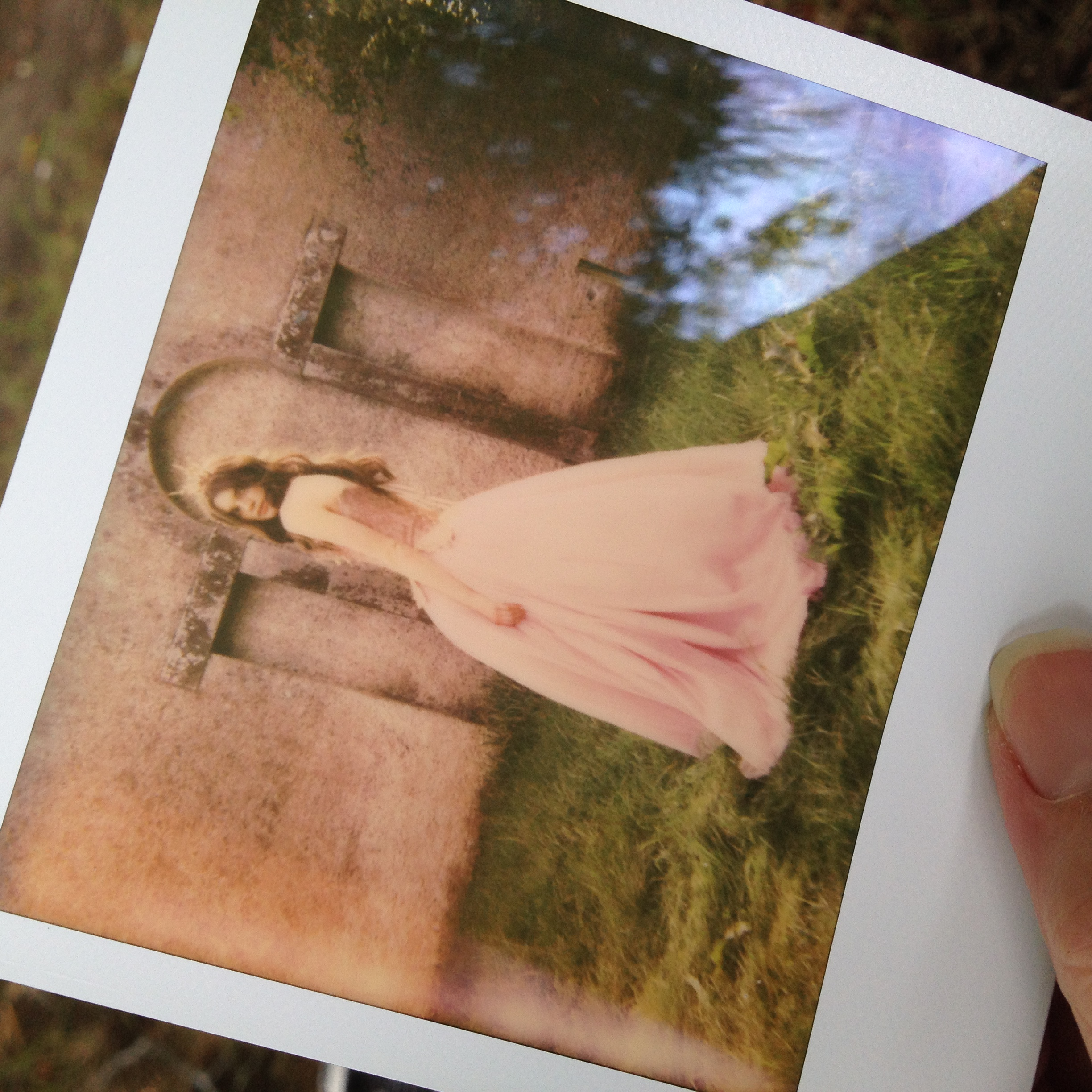 Emily Soto Ireland Workshop Poloroid of Coquette by Chantal Mallett
